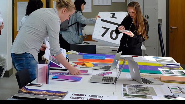 Graphic Design Students