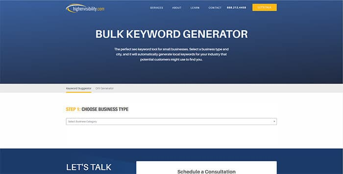 Keyword Search Tools - IMforSMB Bulk Keyword GeneratorIMforSMB Bulk Keyword Generator