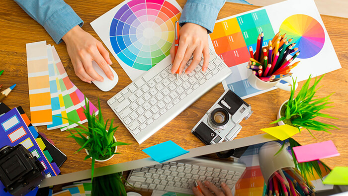 Internet Over Graphic Designing