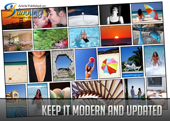 Keep It Modern and Updated