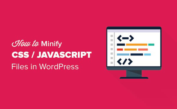 Minify Javascript and CSS files