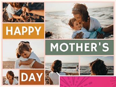 Mother's Day Fotor Template3