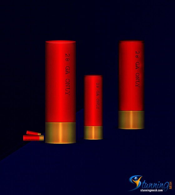 Shotgun Shell Design in Photoshop – [Photoshop Tutorial]