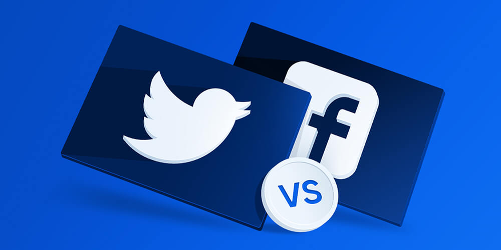 Social Marketing: Selection Between Facebook and Twitter
