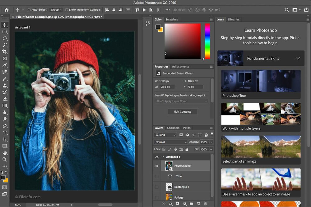 Start Website Design With Ultimate Source: Photoshop