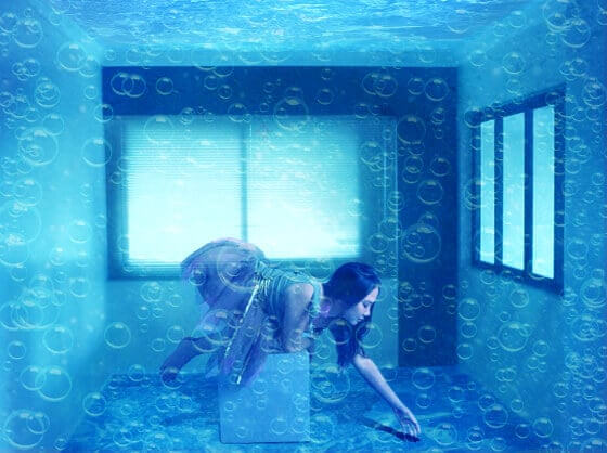 Under Water Room in Photoshop Tutorials