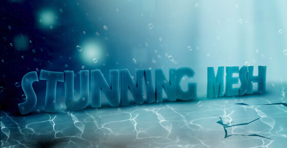 Underwater 3D Text Effect in Photoshop Tutorial