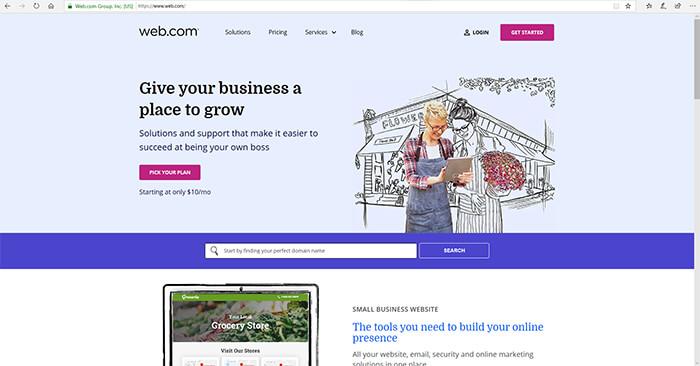 Web Dot Com - Website Builders