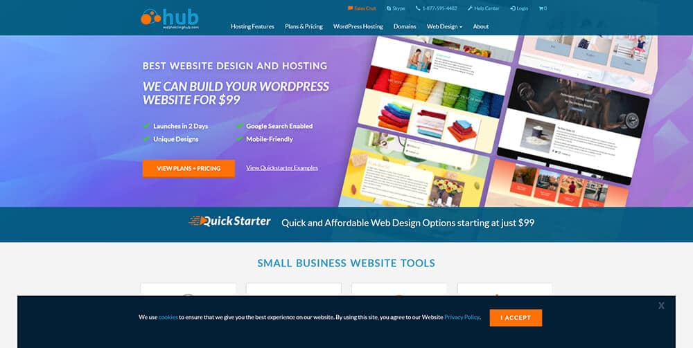 Web Hosting Hub (The Easiest Way to Get Online)