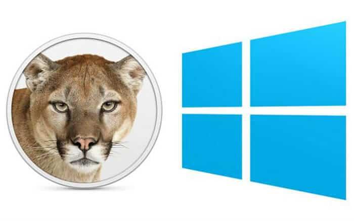 Windows 8 Vs Mountain Lion