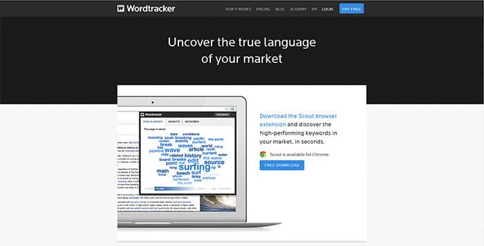 Keyword Search Tools - Wordtracker Scout