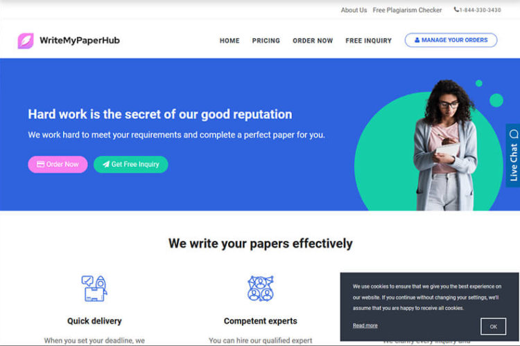 An In-Depth Review of WriteMyPaperHub and Its Writing Services