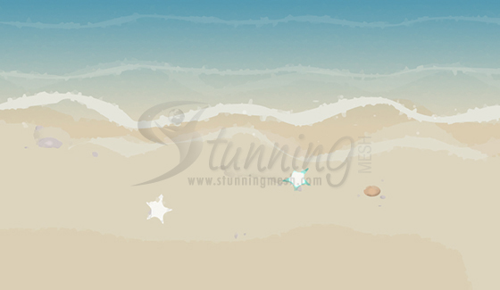 Beach Background Wallpaper Design in Photoshop