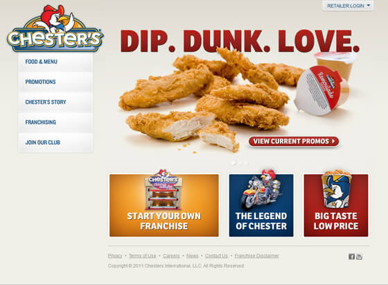 World's Famous Fast Food Restaurant Chains Websites for your Inspiration