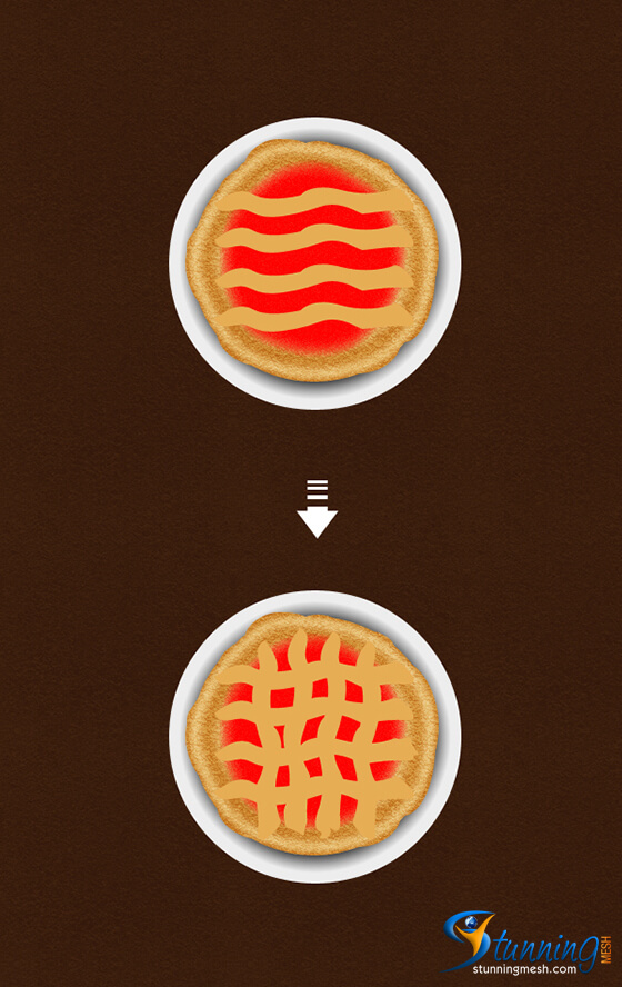 Delicious Pie Design in Photoshop - Step 9