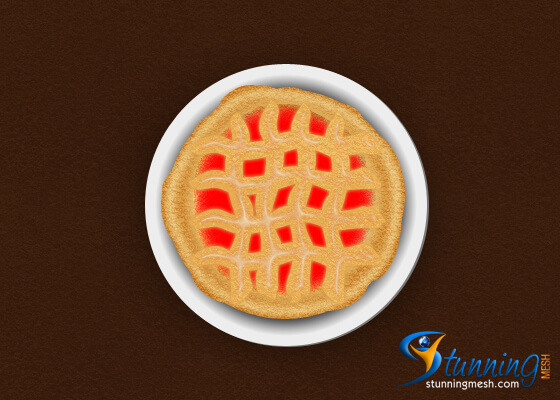 Delicious Pie Design in Photoshop