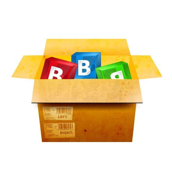 Realistic Box in Photoshop