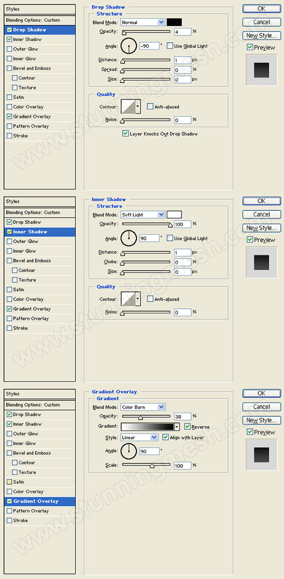 Design Blog Interface in Photoshop