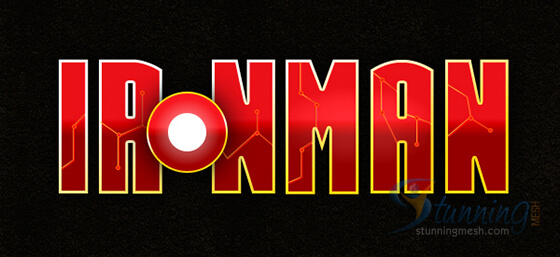Iron Man Text Effect in Photoshop