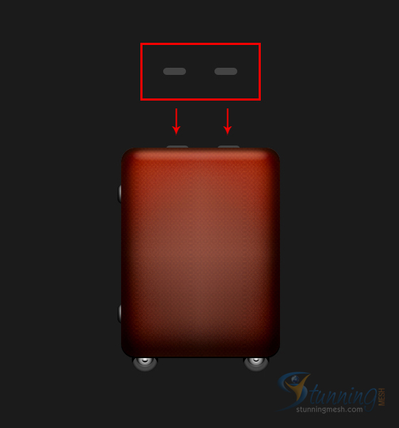 Luggage Design in Photoshop - Step 15