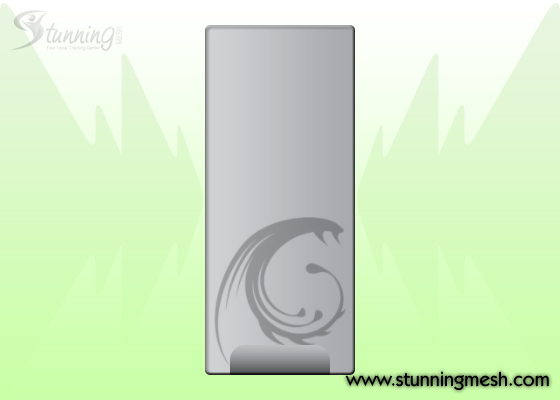 PC Casing Front View Design in Photoshop - Step 08