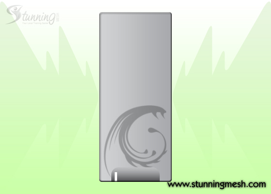 PC Casing Front View Design in Photoshop - Step 09