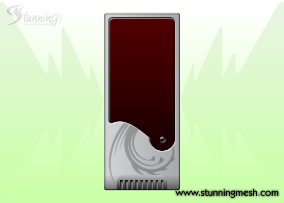 PC Casing Front View Design in Photoshop - Step 013