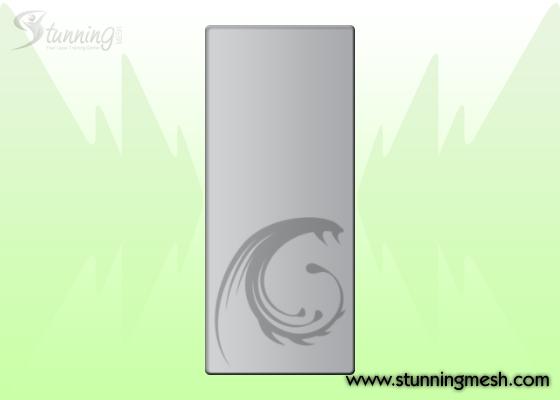 PC Casing Front View Design in Photoshop - Step 06