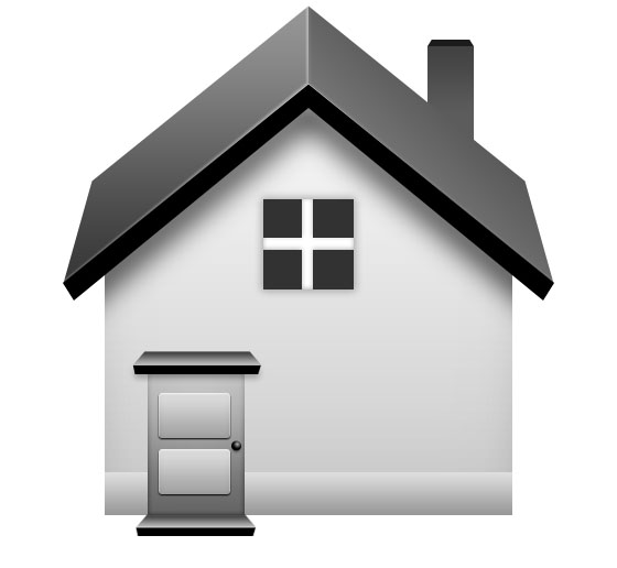 Home Icon in Photoshop
