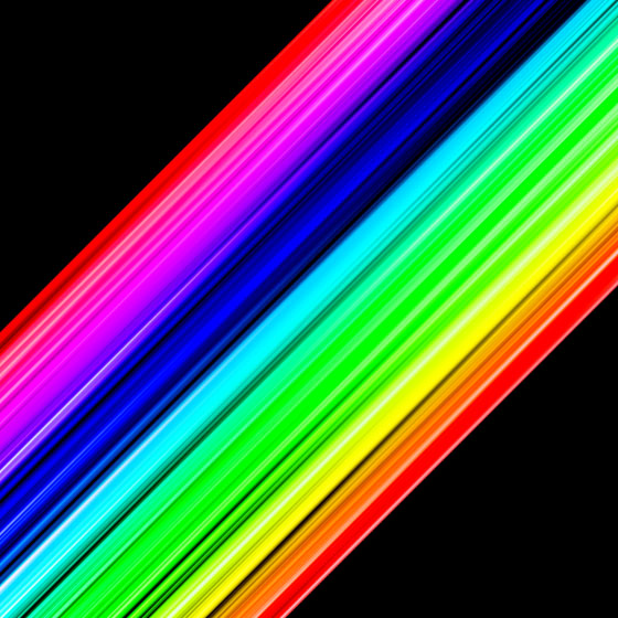 Rainbow Colors Strips in Photoshop