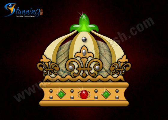 Precious Royal Crown in Photoshop