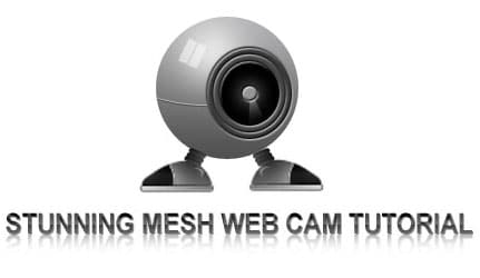 Realistic Web Cam in Photoshop
